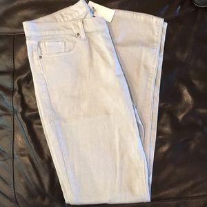 Light Gray Denim Jeans size 10